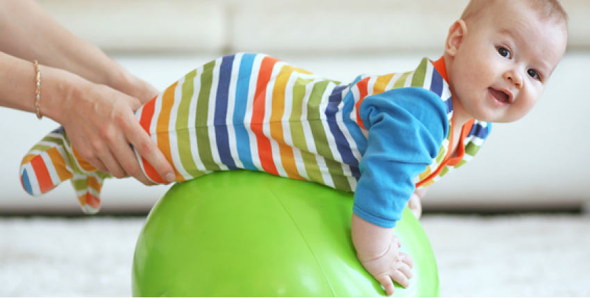 baby gym parent enfant