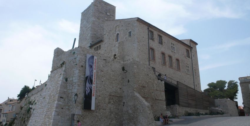 musée picasso Antibes en famille