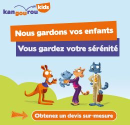 Kangourou Kids, la solution de garde d'enfants pour parents exigeants