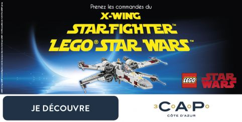 LEGO® Star Wars arrive à CAP 3000 !