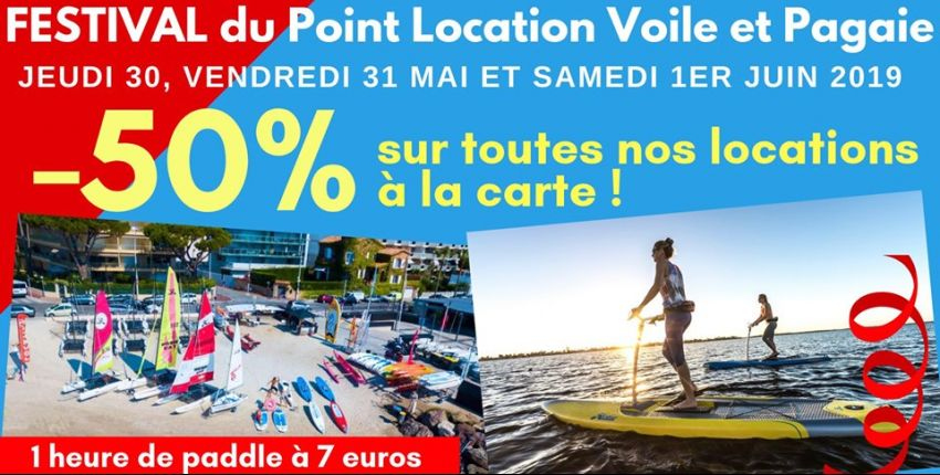 Festival du point  location voile et pagaie!