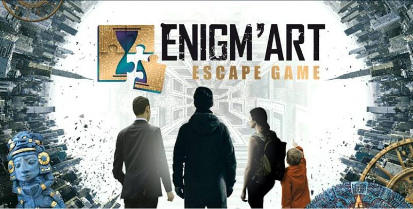 Enigm'art, le plus grand escape game de la Côte d'Azur !