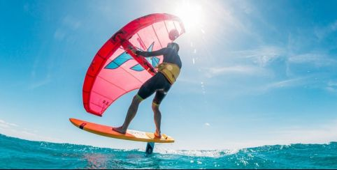 wingfoil location kayak famille Cannes Nice