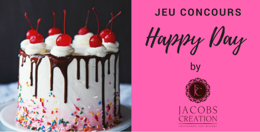 Happy Day by Jacobs Création !