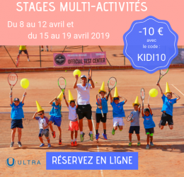 Stage vacances avril